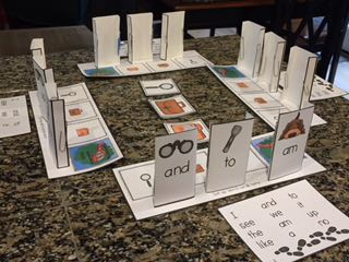 Click here to see the Sight word game for academic learning